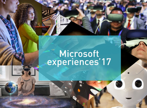 SAVE THE DATE! - Microsoft Experiences'17